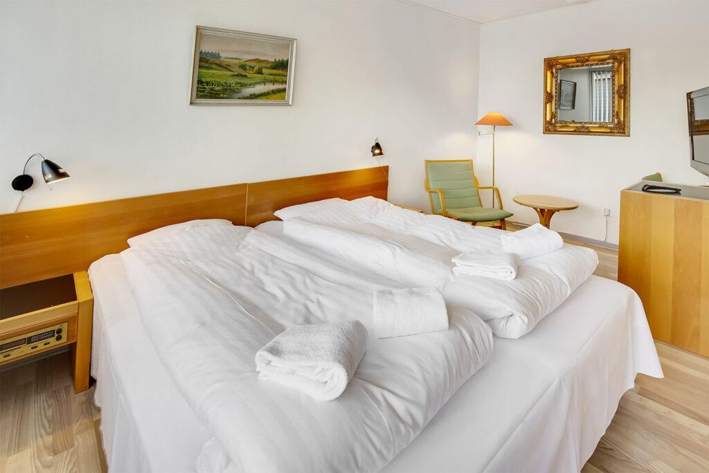 nyredte senge